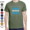MEN'S  CUSTOM PRINTED T-SHIRTS